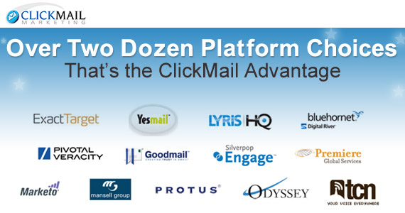 ClickMail Marketing: ClickMail Marketing is a value-added reseller of Email Service Providers and email-related services.