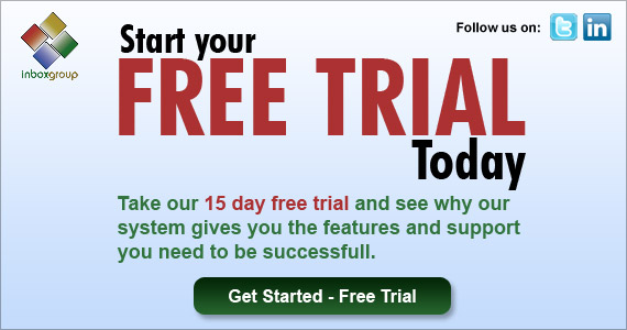 Inbox Group offers you a free 15 day trial of their email marketing solution!