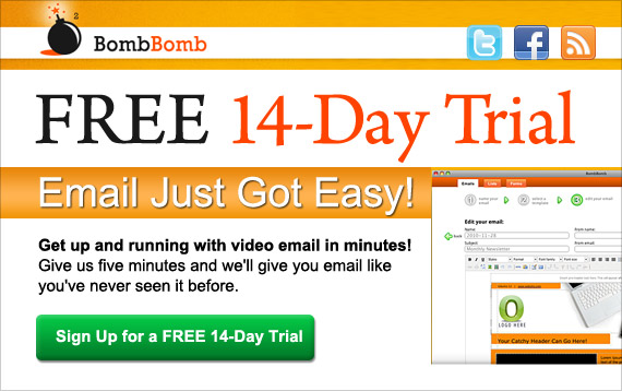 Free 14-Day Video Email Marketing Trial