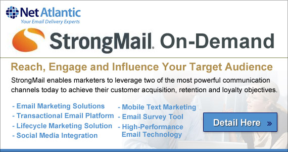 StrongMail® On-Demand Edition