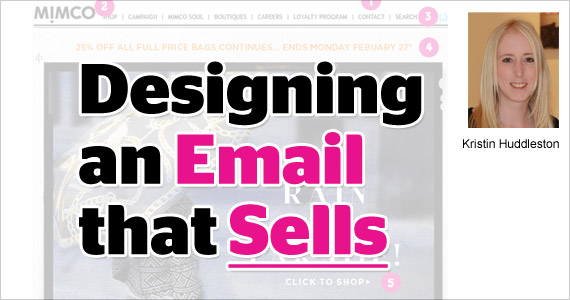 Designing an Email that Sells by Kristin Huddleston @vision6