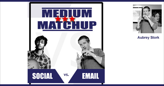 Email Marketing vs. Social Media by Aubrey Stork @aubreystork