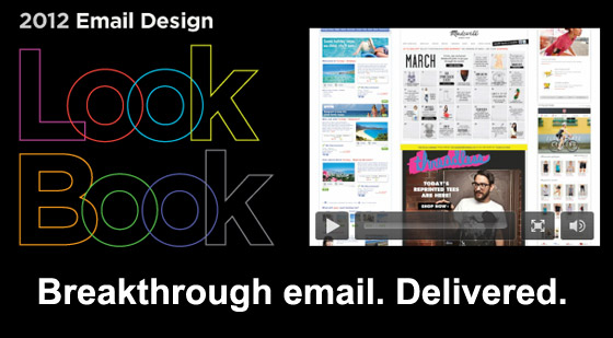 Responsys – 4th Annual Email Design Look Book