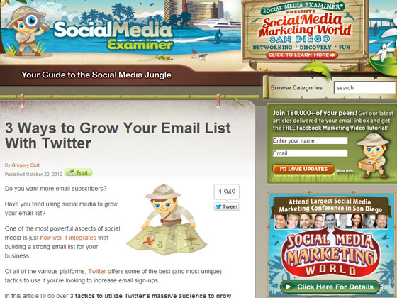 3 Ways to Grow Your Email List With Twitter