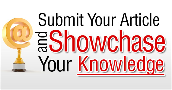 Summit your article and Showcase your Knowledge