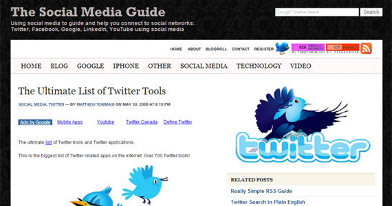 Ultimate List of Twitter Tools