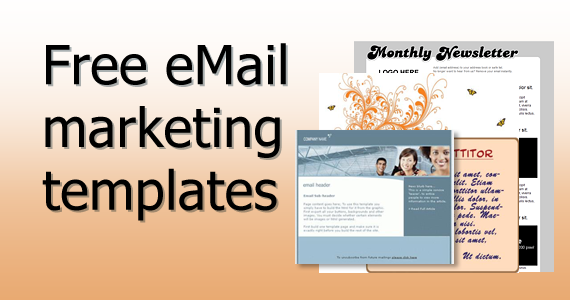 Free email marketing templates email marketing for Email advertisement template