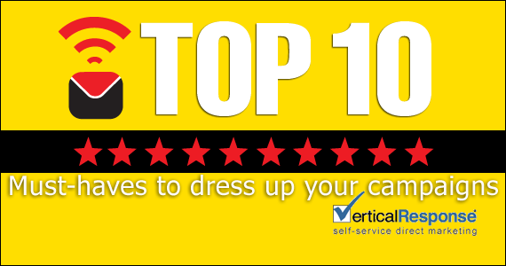10 must-haves to dress up your eMail marketing campaigns