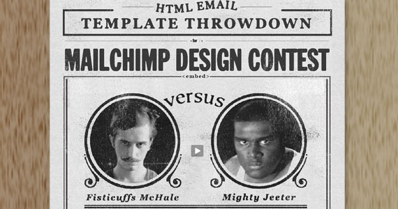 MailChimp Template Throwdown
