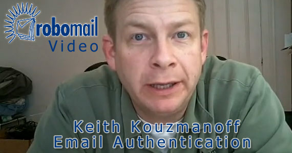 Robomail video: Email Authentication