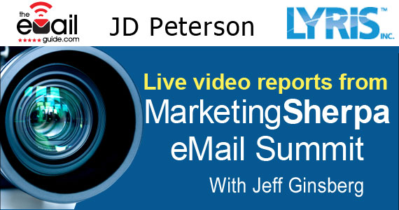 Email Marketing Advice from JD Peterson of Lyris