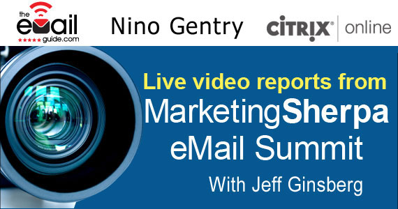 Email marketing advice from Nino Gentry of Citrix