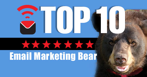 Email Marketing bear's Top Ten Tips