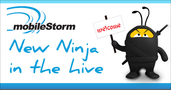 New Ninja in the Hive: mobileStorm!