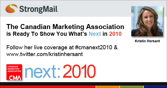 The Canadian Marketing Association is Ready To Show You What's Next in 2010