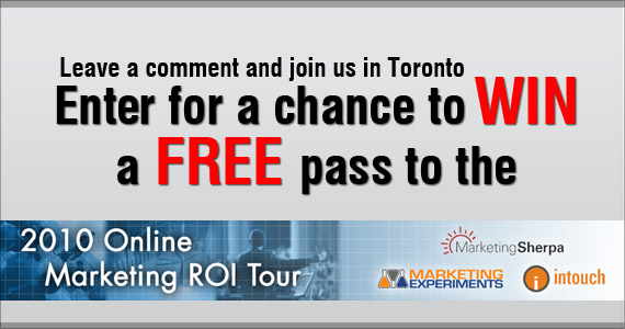 Online Marketing ROI Tour - WIN TO GET IN!