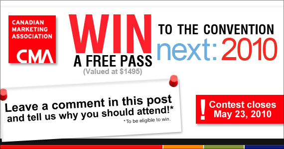 Win a FREE Pass to the CMA National Convention from The eMail Guide!