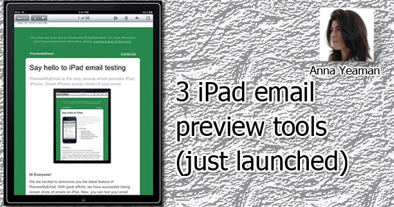 3 iPad Email Preview Tools
