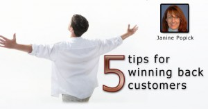 5 Tips for Winning Back Customers