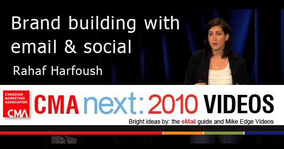 Rahaf Harfoush Building Brand with Social and Email