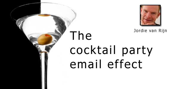 The Cocktail Party Email Effect