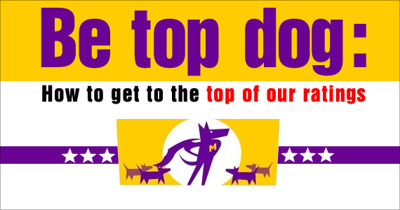 Be Top Dog: How to Getto the Top of The eMail Guide Ratings