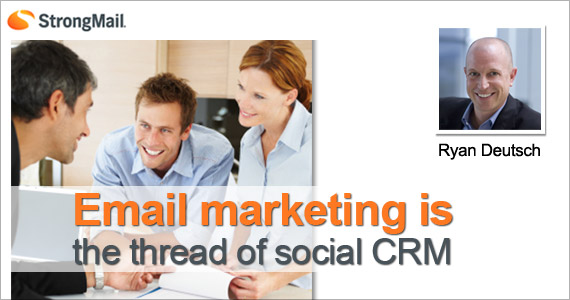 Email Marketing is the Thread of Social CRM