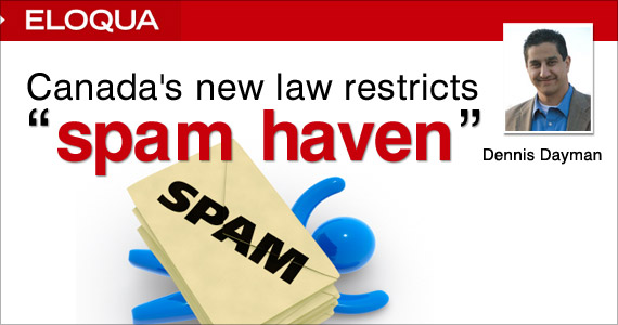 Canada's New Law Restricts Spam Haven