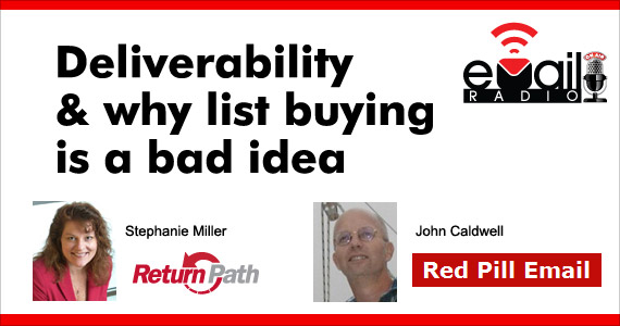 eMail Radio - Deliverability & why list buying is a bad idea