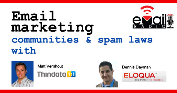 eMail Radio - Email marketing communities & spam laws