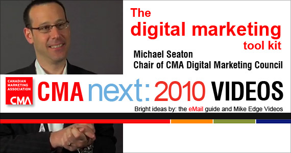 CMA Video: Michael Seaton, Chair of the Digital Marketing Council