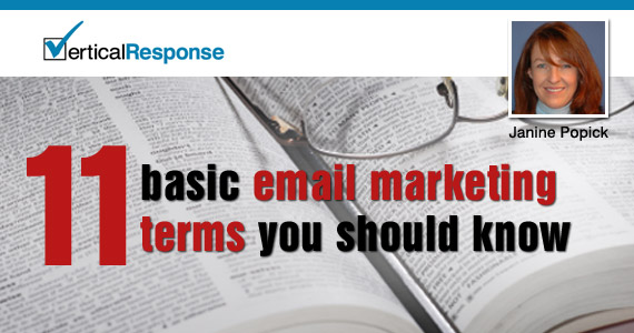 11 Basic Email Marketing Terms You Should Know