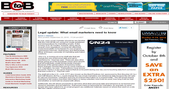 Legal update: What email marketers need to know