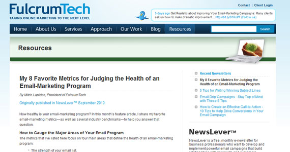 My 8 Favorite Metrics for Judging the Health of an Email-Marketing Program