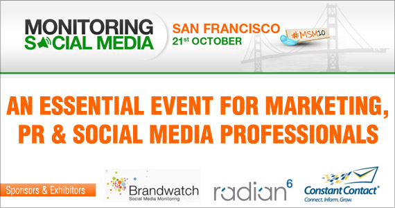 Win free passes to: Monitoring Social Media event