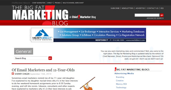 Of Email Marketers and 11-Year-Olds