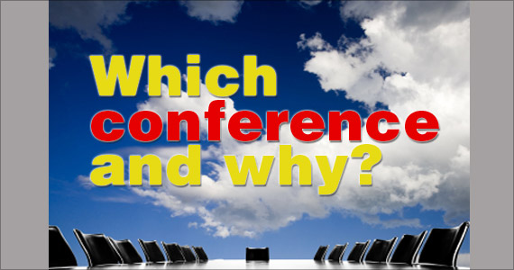 Which conference and why