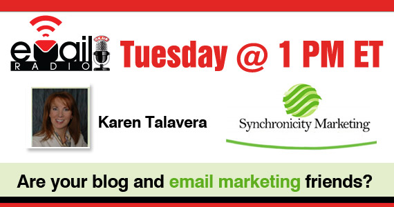 eMail Radio - Are your blog and email marketing friends?
