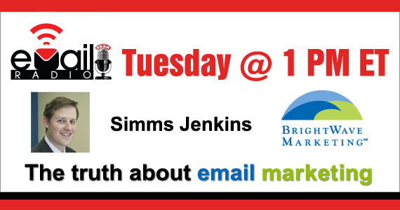 eMail Radio - Simms Jenkins & the truth about email marketing