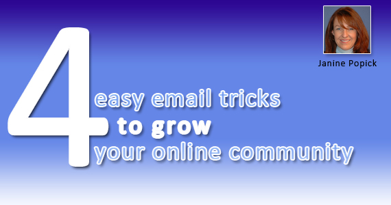 4 Email Tricks to Grow Your Online Community