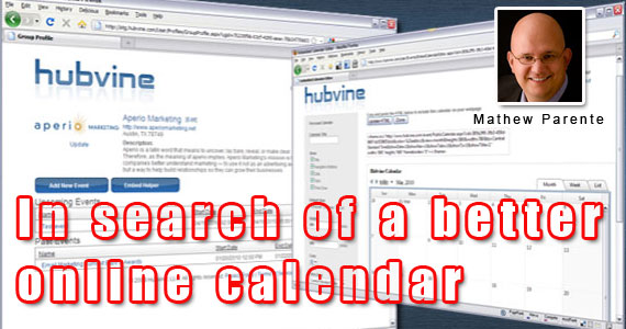 In Search of a Better Online Calendar