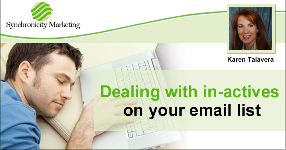 Dealing with In-actives on Your Email List