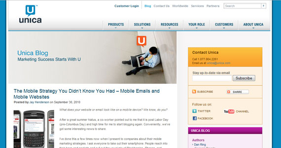 The Mobile Strategy You Didn't Know You Had – Mobile Emails and Mobile Websites