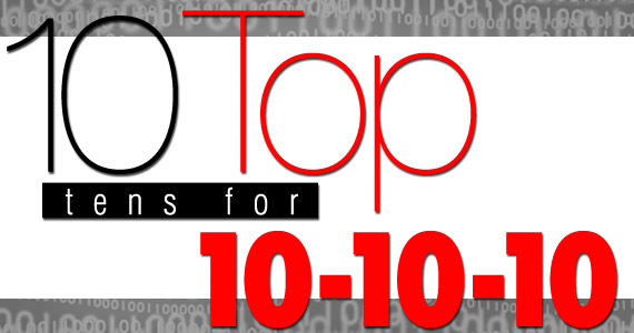 Email Marketing 10 top tens for 10-10-10