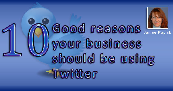 10 good reasons your business should be using Twitter