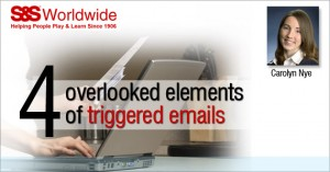 Email Marketing 4 Overlooked Elements of Triggered Emails