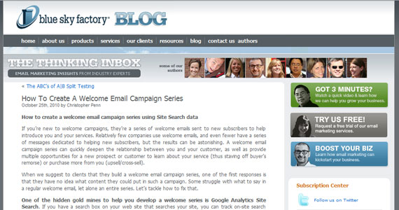 Email Marketing How To Create A Welcome Email Campaign Series