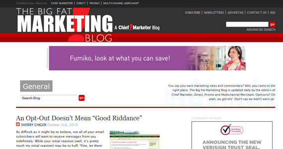 """Email Marketng An Opt-Out Doesn't Mean """"Good Riddance"""""""