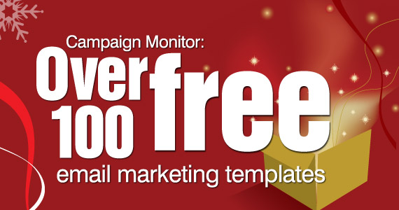 Over 100 free email marketing templates from Campaign Monitor