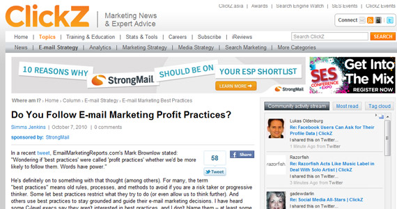Email Marketing Do You Follow E-mail Marketing Profit Practices?